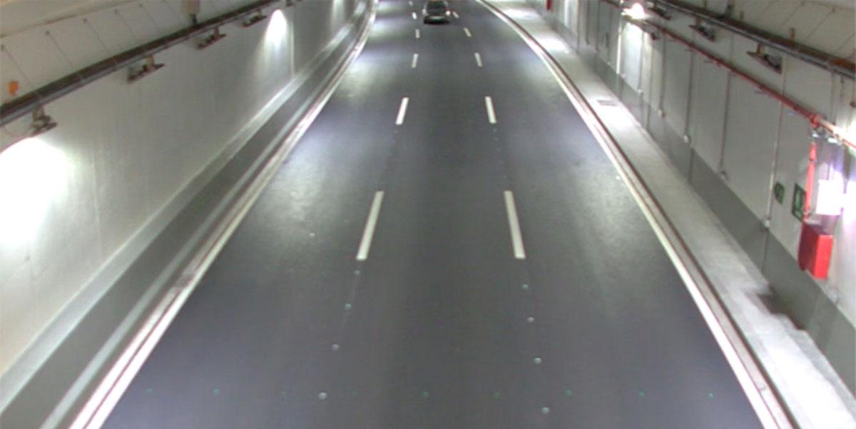 Interios de túnel, sistema de control DAI