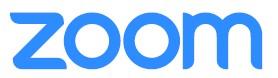 logotipo de zoom, videoconferencias